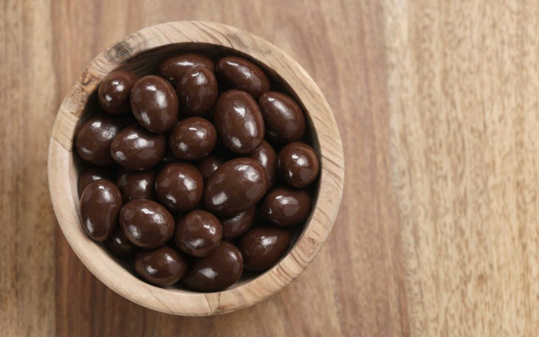 Amêndoas e Avelãs de 3 chocolates