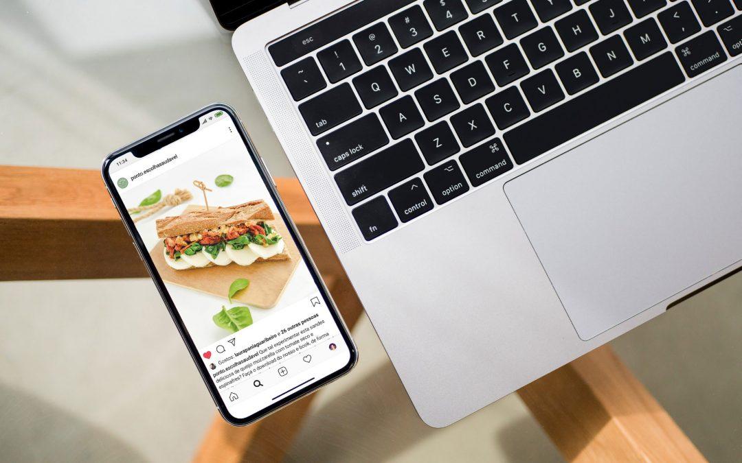 Alimentação e Comunicação nas redes sociais