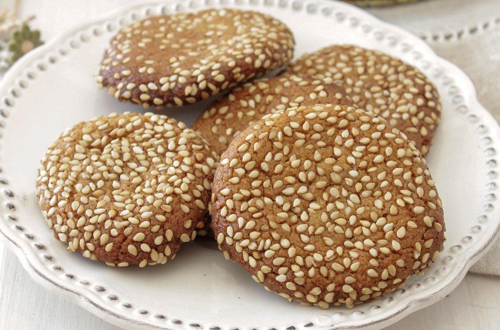Biscoitos de sésamo