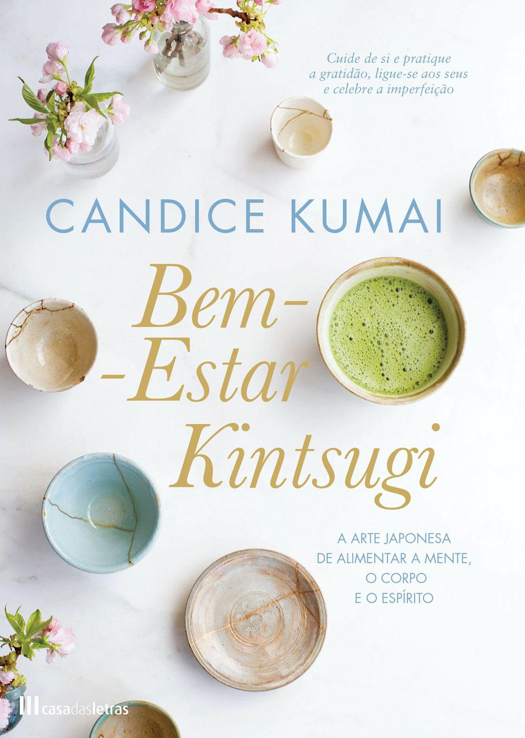 Capa do livro Bem-estar Kintsugi